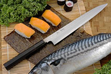 Kansui Suminagashi Right-Handed Yanagiba (Sashimi Knife) - 240mm