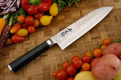 Tan-Gan-Ryu Chef's Knife - Santoku - 6-3/4 in. (170mm)