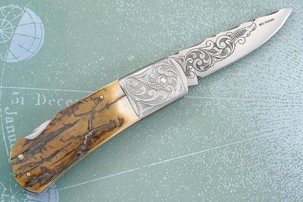 Engraved Mammoth Folder