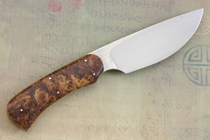 Drop Point Hunter with Spalted Maple Burl
