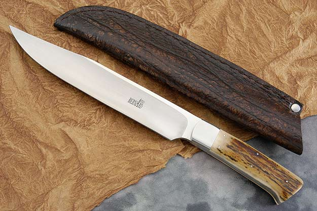 Camp Knife with Mammoth Ivory
