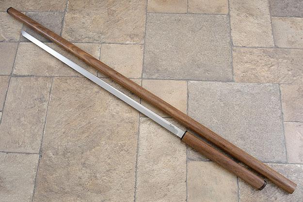 Staff Sword with Black Walnut