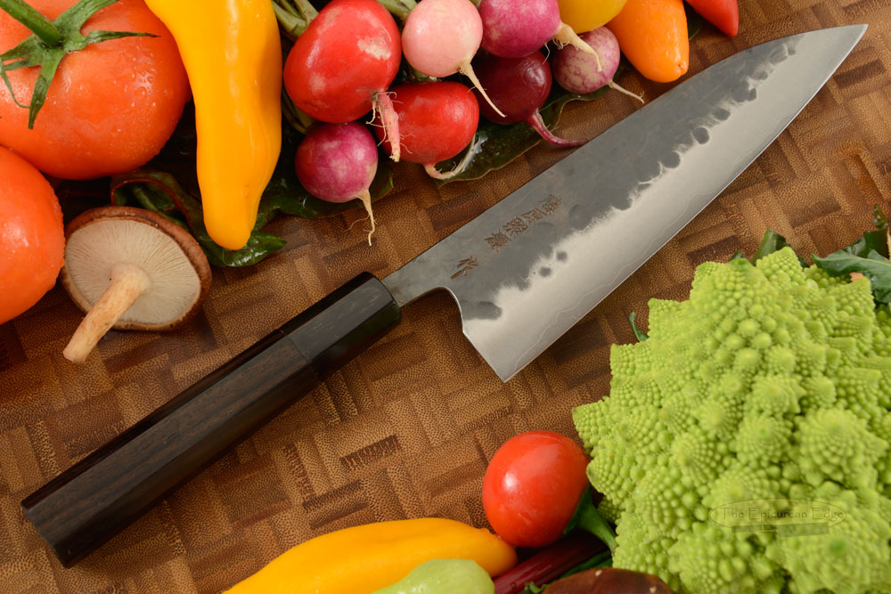 Denka no Hoto Chefs Knife - Gyuto, Traditional with Finger Rest - 180mm (7 1/8 in.)