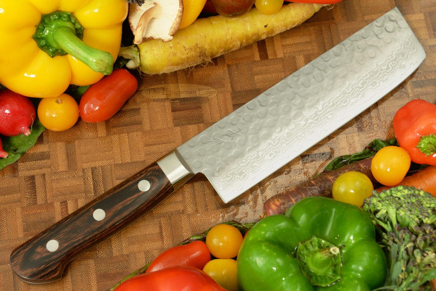 Vegetable Knife - Nakiri - 6 3/4 in. (170mm) WGAU17-06-5sp