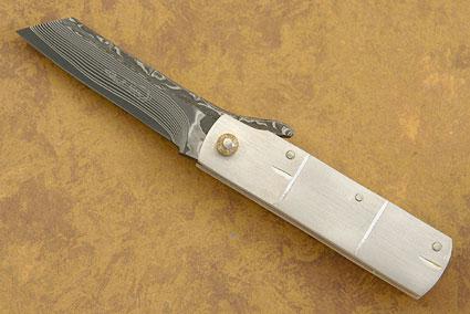 Silver Bamboo Higonokami
