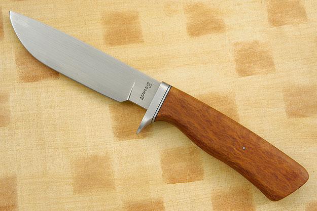 Lace Sheoak Hunter<br>Journeyman Smith Test Knife