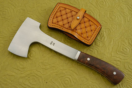 Axe with American Walnut