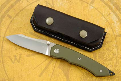 Green and Gold Tactical Folder