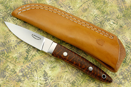 Drop Point Utility with Snakewood