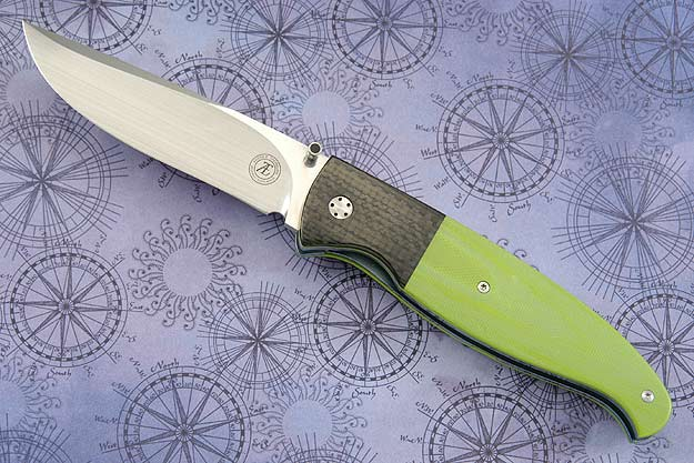 L22 with Toxic Green G10 and Carbon Fiber