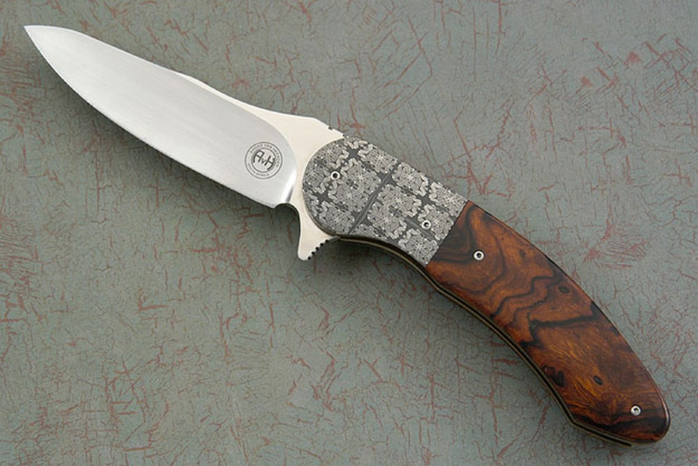 Damascus and Ironwood Flipper (IKBS)