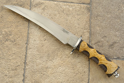 Fighting Claw with Maple<br>Journeyman Smith Test Knife