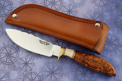 Canadian Woodsman with Amboyna Burl