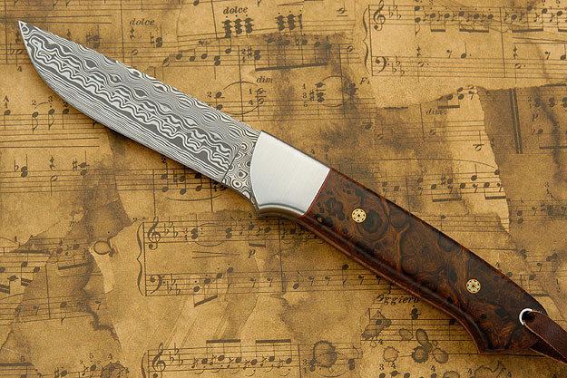 Damascus Whitetail Hunter with Ironwood