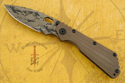 SMF-CC, Coyote Brown G10 and Digicam Finish