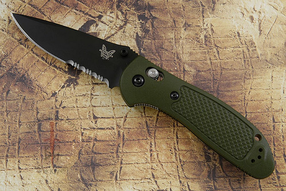 Pardue Griptilian MDP, OD with Serrations (551SBKOD)