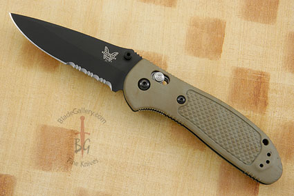 Pardue Griptilian MDP, Sand with Serrations (551SBKSN)