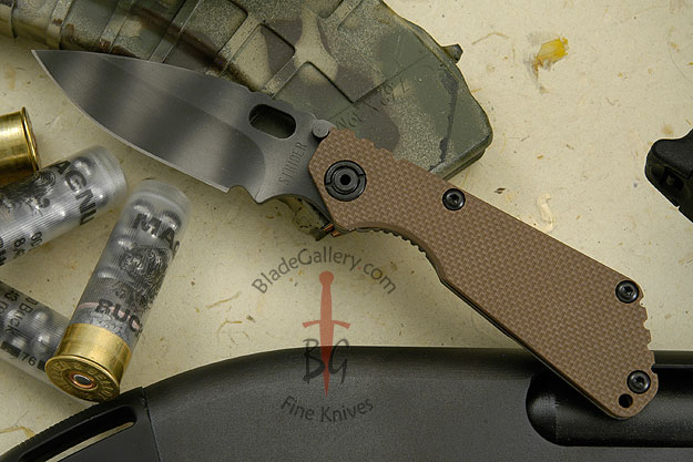 SnG, Tan G10 and Tiger Stripe Finish