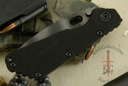SMF, Black G10 and Tiger Stripe Finish