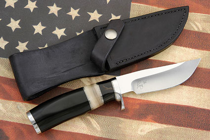 Skinner with Buffalo and Sheep Horn (35th Anniversary Knife)