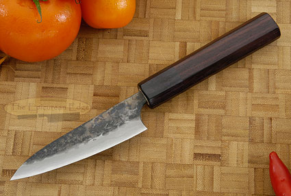 Tojinbo Damascus Paring Knife (Petty) - 3-3/4 in. (95mm)