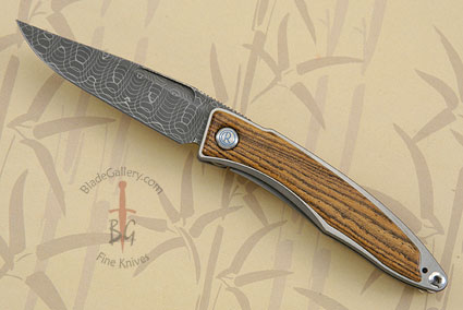 Mnandi with Bocote and Spirograph Damascus