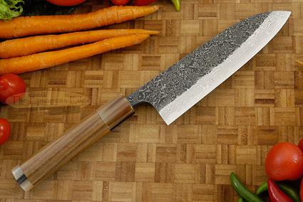 Damascus SLD Chef's Knife - Santoku - 6-1/2 in. (165mm)