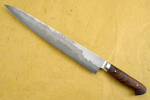 Slicing Knife (Sujihiki) with Cocobolo (12
