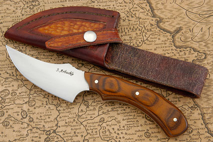 Upswept Skinner with Cocobolo Dymondwood (4-1/2 in.)
