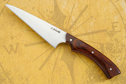 Wharncliffe Utility with Rosewood Dymondwood (4-1/2 in.)