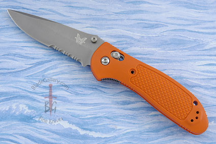 Pardue Griptilian MDP, Orange with Serrations (551SH20) - Aquatic Use