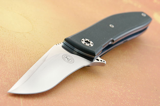 L42 IKBS Flipper with Forest Green G10