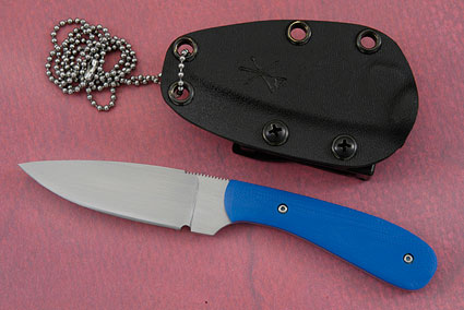 Small Practical EDC with Blue G10