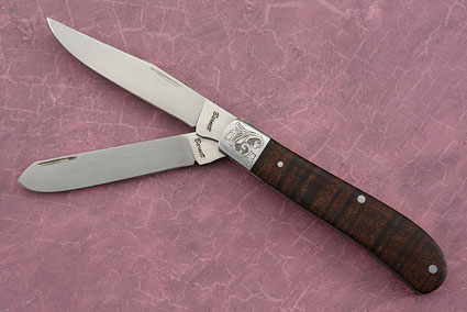 Two-Blade Trapper with Ringed Gidgee