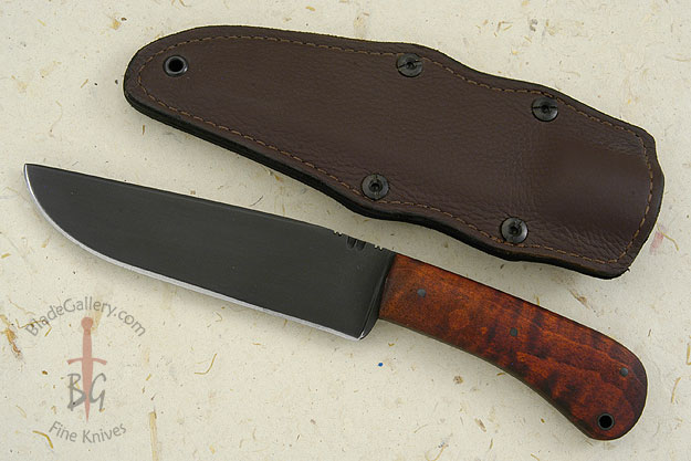 Field Knife with Maple and Caswell Finish (5160)