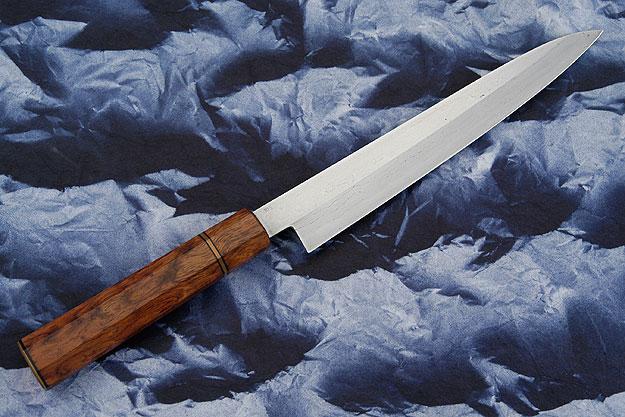 Tamahagane Yanagi (9-1/8 in/230mm) with Lacewood