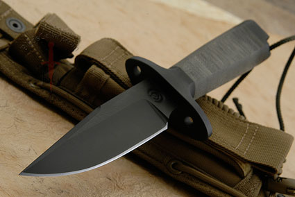 MK41 with Stacked Micarta Handle and T Guard