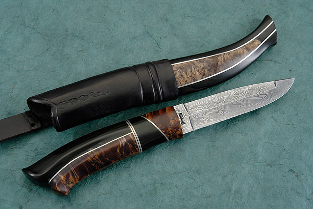 Swedish Buffalo Half Horn Hunter