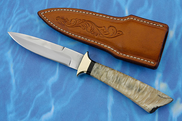 Boot Knife with Muskox