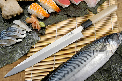 Hon Kasumi Left-Handed Sashimi Hocho - 270mm