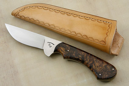 Spring Creek Hunter with Spalted Maple Burl