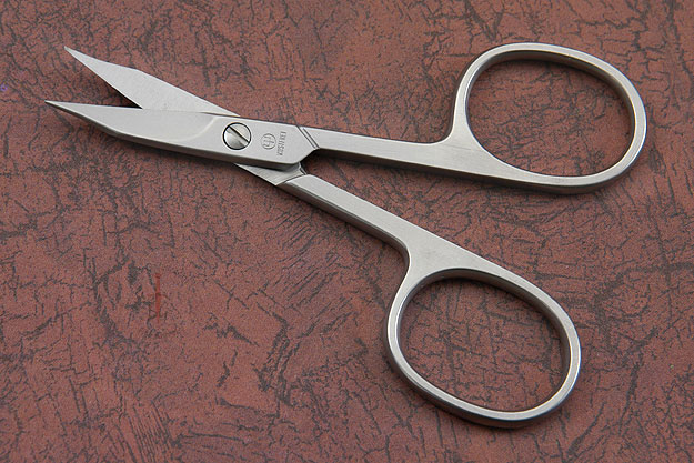 Nail & Cutical Scissors - Stainless Steel (5124)