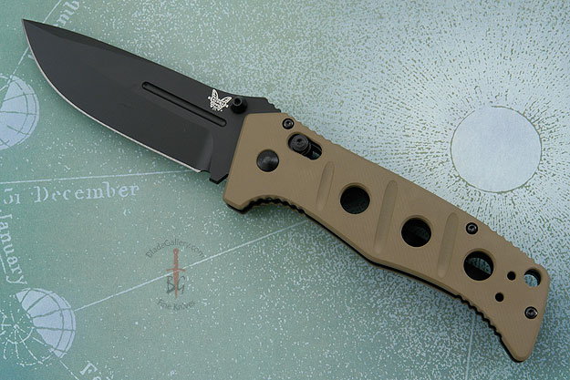 Sibert Adamas, Black Blade with Desert Sand Handle (275BKSN)