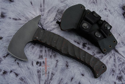 Stealth Axe with Sculpted Maple Handle and Caswell Finish
