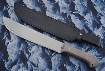Machete with Fiddleback Maple (12 inch)