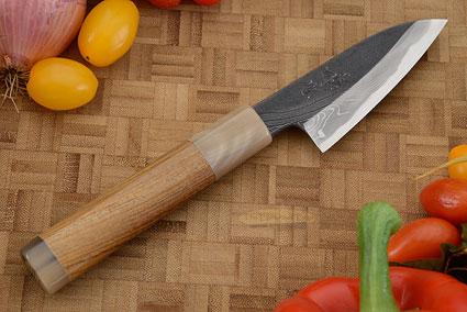 Half Twist Suminagashi Tall Paring Knife - Petty - 3 1/2 in. (90mm)