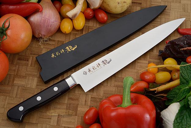 Bu-Rei-Zen (Blazen) Slicer - Sujihiki - 9-1/2 in. (240mm)