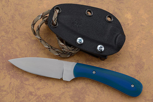 Small Practical EDC with Blue/Jade G10