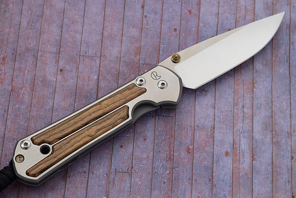 Large Sebenza 21 with Bocote - Left Handed