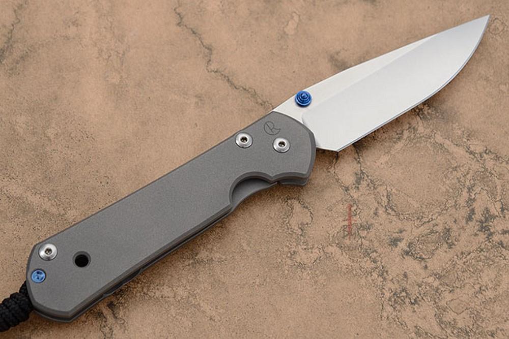 Large Sebenza 21 with Plain Edge -- Left Handed